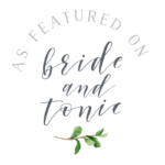 Bride Tonic Badges